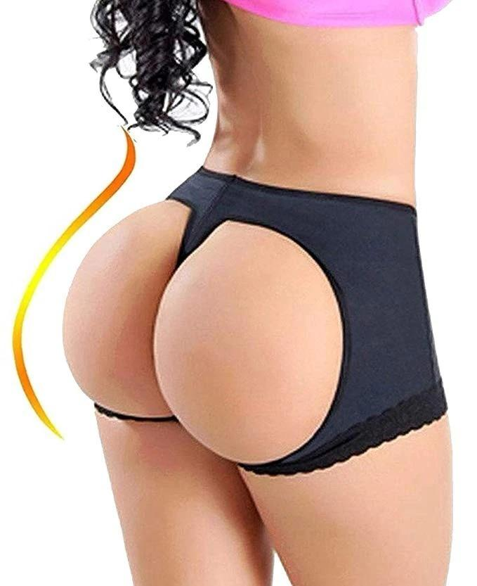Plus Size Butt Booty Lifter Panty Underwear Booster Body Buttock Shaper