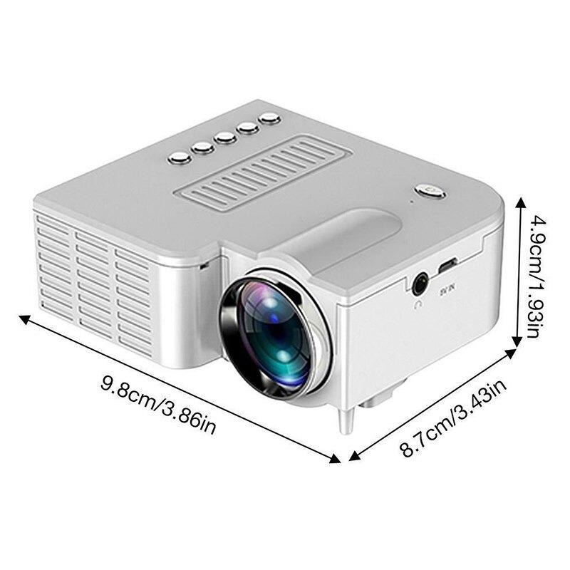 Mini Movie projector portable pico full color led lcd video projector