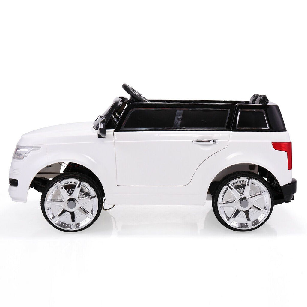 Toddler Electric Car White 6v | Kids Electric Car