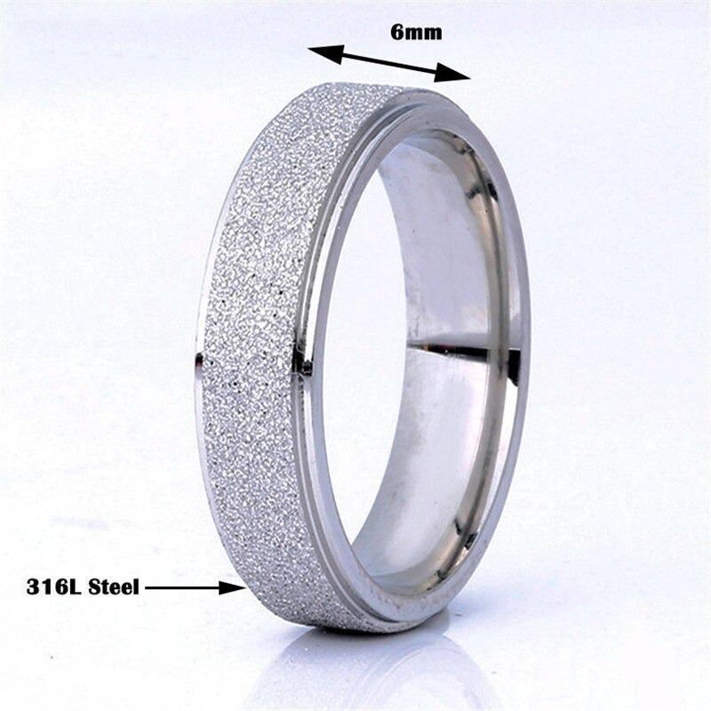 Rose Gold Tungsten Wedding Band, Brushed and Polished Comfort Fit