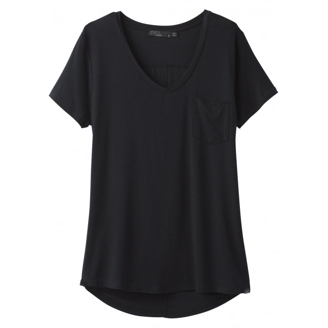 Women's Foundation SS VNeck Top - Plus