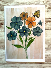 Load image into Gallery viewer, Happy Mail - PEACE - 5x7 Art Card with Envelope + Vinyl Sticker -  2 Thessalonians