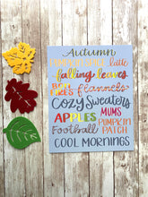 Load image into Gallery viewer, Autumn Love - Hand Lettered Fall Art Print
