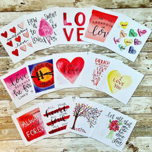 Load image into Gallery viewer, Scripture Valentines Set of 16
