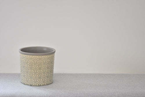 Neutral Glazed Pot