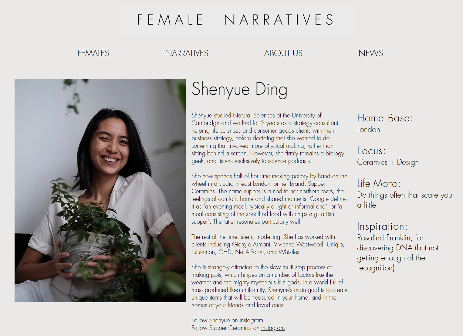 shenyue ding supper ceramics ceramic artist biography by female narratives