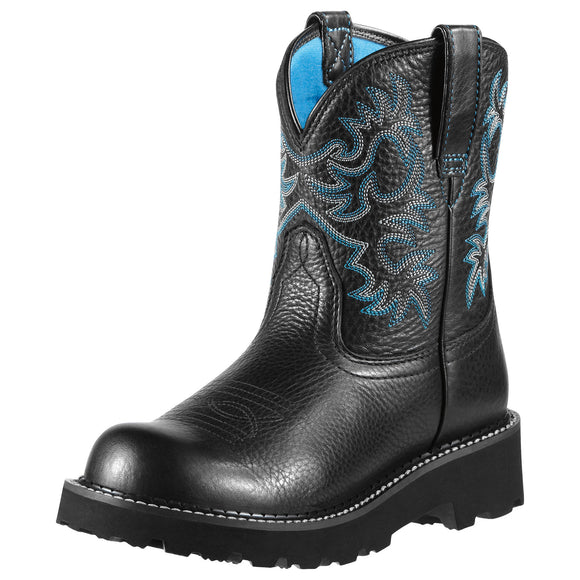 Women's Ariat Fatbaby Original (Black Deertan)