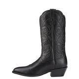 Women's Ariat Heritage Western R Toe (Black)