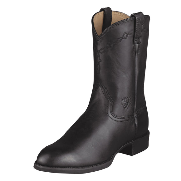 Ariat Heritage Pull On Roper (Black)
