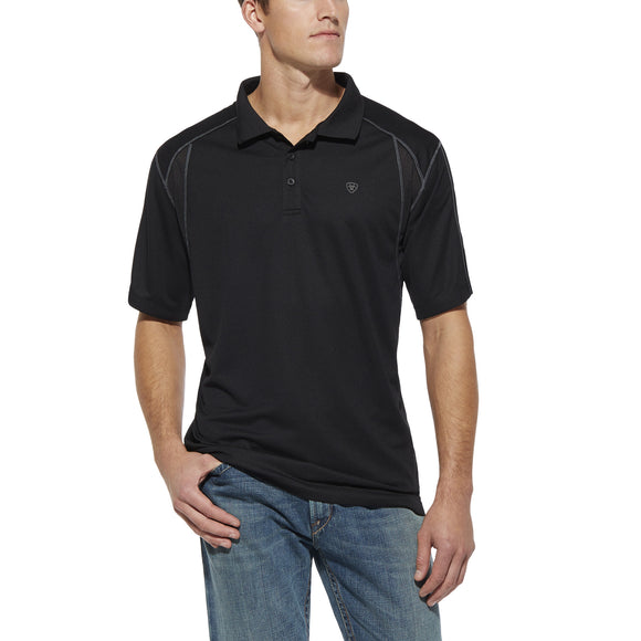 Ariat AC Tek Polo (Black)