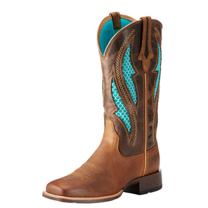 Women's Ariat VentTEK Ultra Western Boot (Brown)