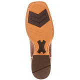 Ariat Range Boss Diamond Back Print Leather Boot (Tan)