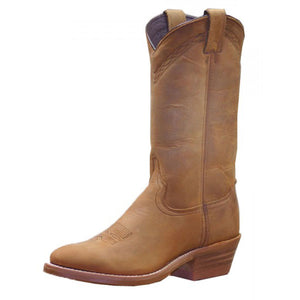 Abilene Cowhide Western Boots (Dirty Brown)
