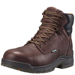 "Timberland Pro Titan 6"" Alloy Toe Waterproof (Dark Mocha)"