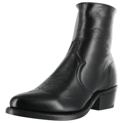 Abilene Sage Ankle Zipper Boot (Black)