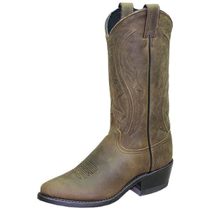 "Women's Abilene Sage 11"" Western Boots (Distressed Brown)"