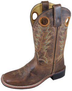 Children's Smoky Mountain Jesse Square Toe (Brown)