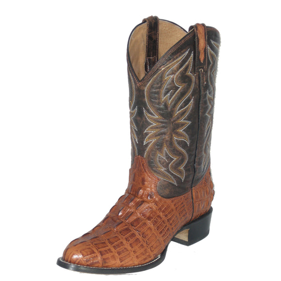 Cowtown Alligator Print Boot (Cognac)