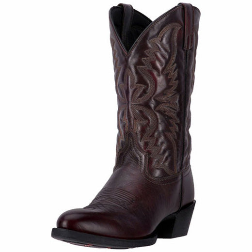 Laredo Birchwood Western Boots (Black Cherry)