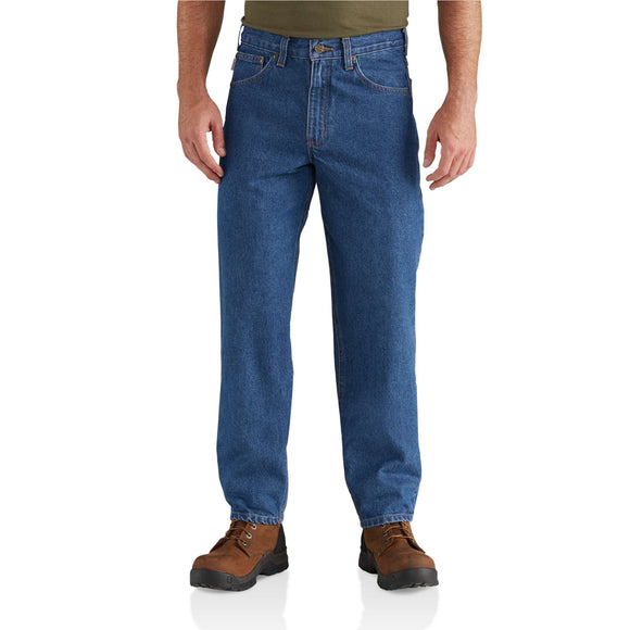 Carhartt Relaxed Fit Tapered Leg Jean (Darkstone)