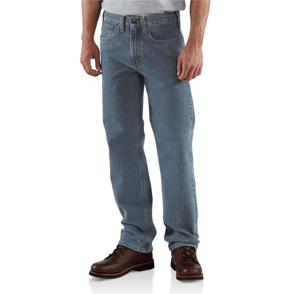 Carhartt Traditional Fit Straight Leg Jean (Deepstone)