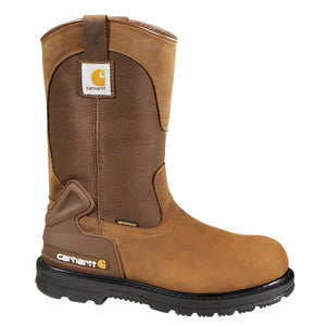 Carhartt Footwear 11 inch Wellington Safety Toe (Bison Brown)