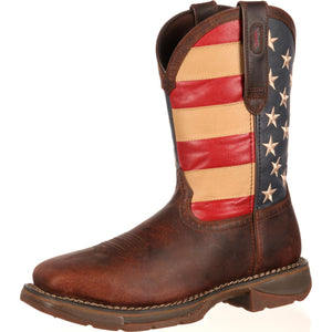 Durango Rebel American Flag Steel Toe (USA)