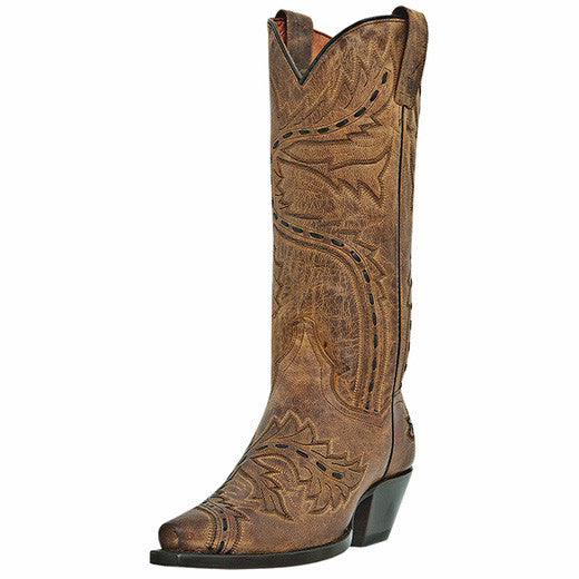 Women's Dan Post Sidewinder (Tan Mad Cat)
