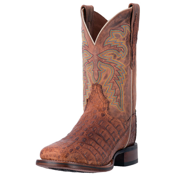 Dan Post Denver Caiman Square Toe (Cognac)
