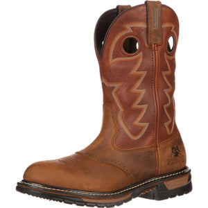 Rocky Original Ride Branson Saddle Roper Waterproof (Saffron Brown)