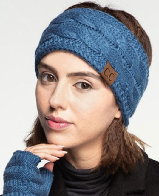 The Classic CC Beanie Headband (Choose Color)