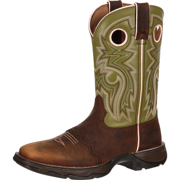 Women's Durango Lady Rebel (Green Meadow \ Brown)