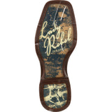 Women's Durango Lady Rebel Let Love Fly (Tan \ Brown)