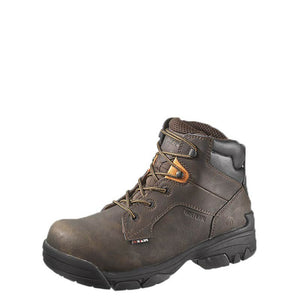 "Wolverine Merlin 6"" Composite Safety Toe Boot (Brown)"