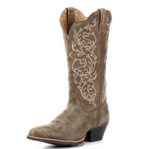 Women's Twisted X Brown Bomber Round Western Boot (Bomber)