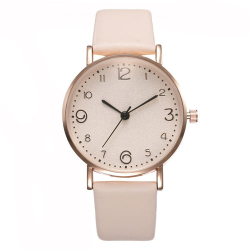 New Simple Ladies Quartz Watch