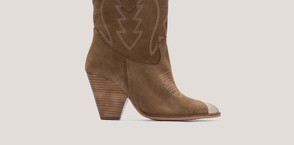 The western boots with which you will look stylish as hell