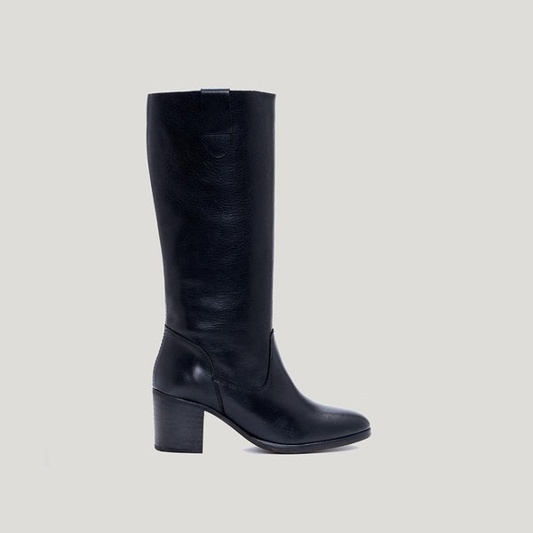 Black hight boot VALENTINA- Bryan Stepwise