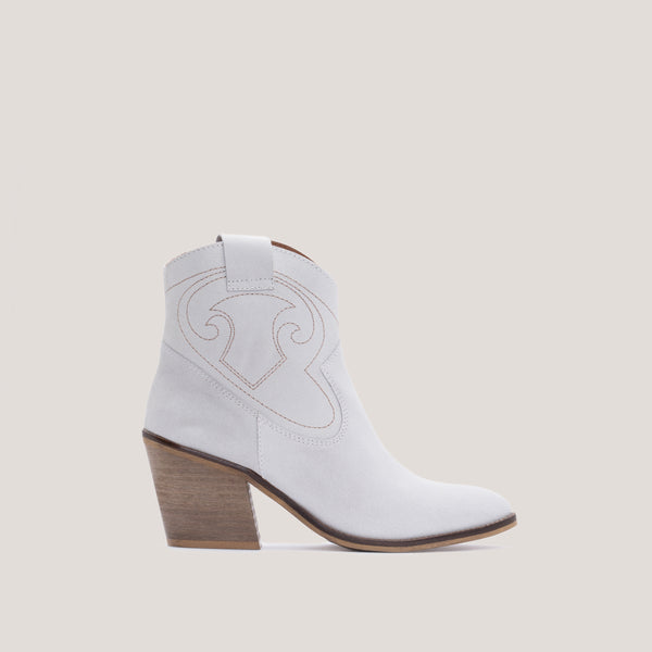 Offwhite western boots -  BROOKE - Bryan Stepwise