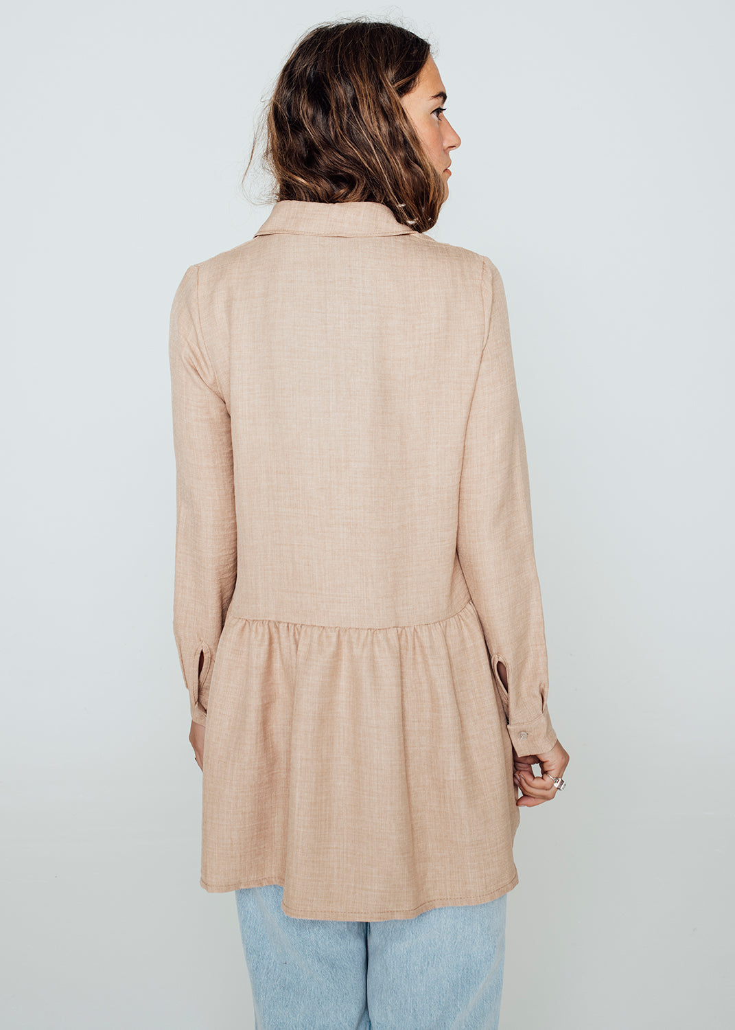 Blouse Camel - Lucy