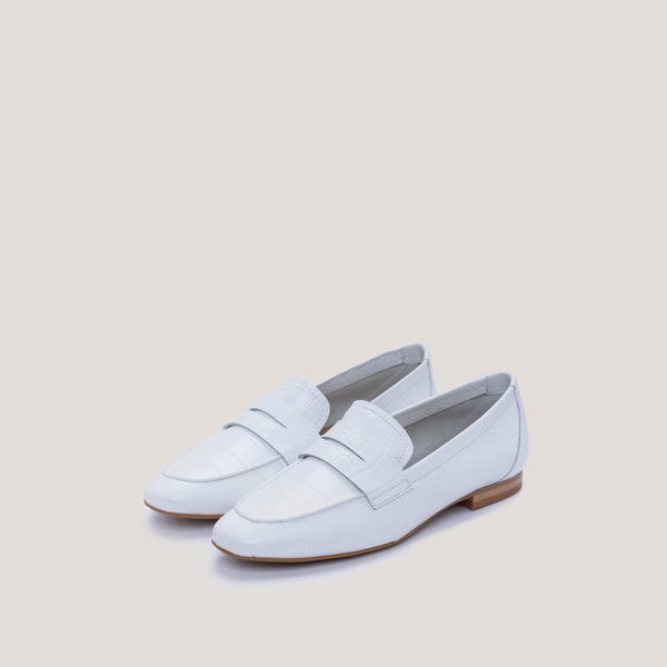Offwhite croc loafer - JUNO - Bryan Stepwise