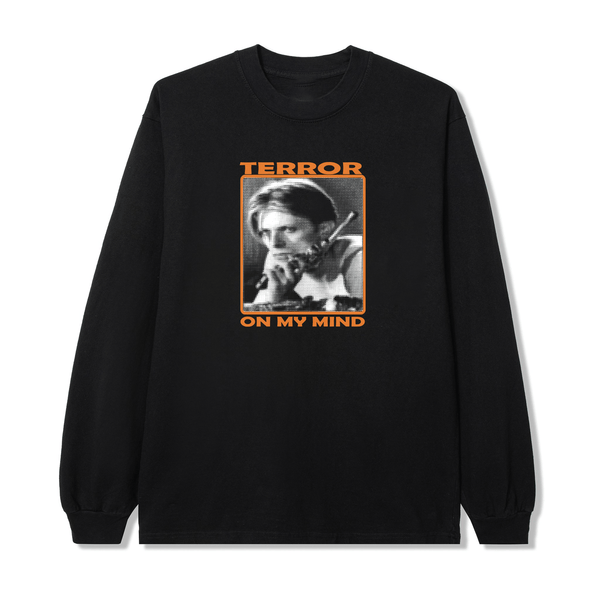 TERROR BLACK LONG SLEEVE - crimeclubmfg
