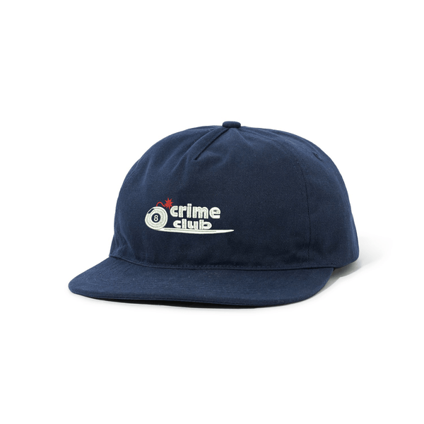 BOMB NAVY HAT - crimeclubmfg