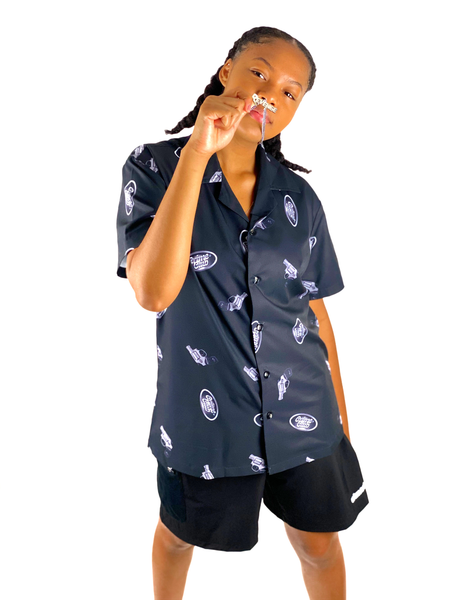 CRIME BUTTON UP SHIRT - crimeclubmfg