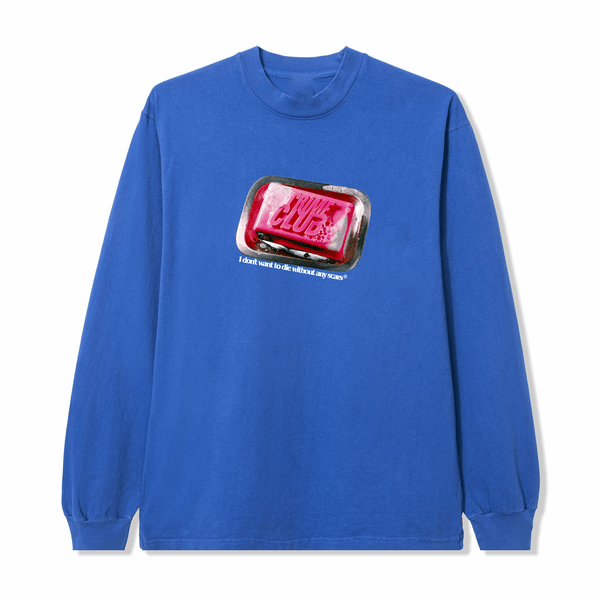 FIGHTCLUB ROYAL BLUE LONG SLEEVE - crimeclubmfg
