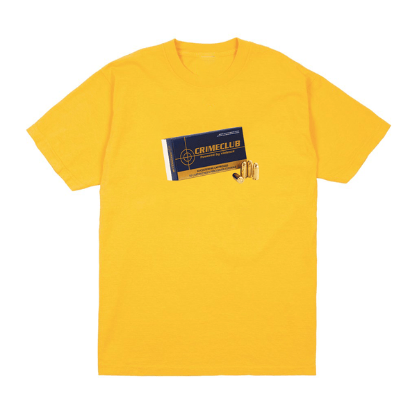 AMMO YELLOW TEE - crimeclubmfg