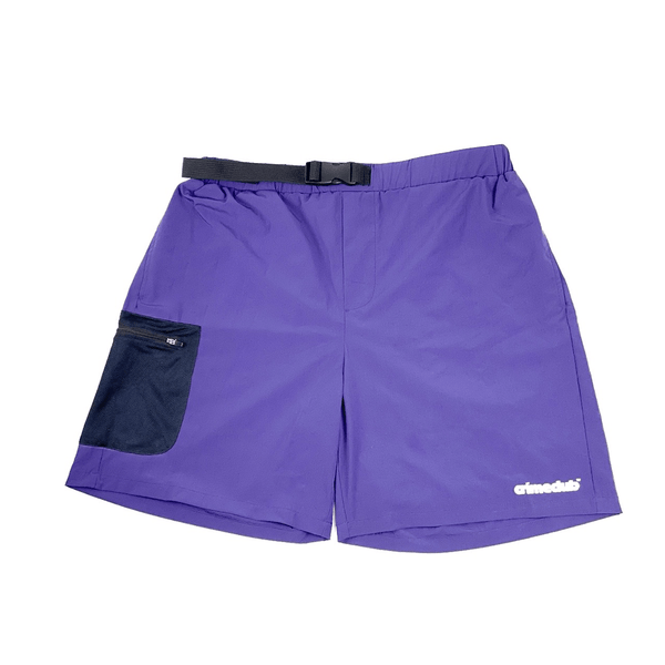 CRIMECLUB DISCOVERY PURPLE SHORTS - crimeclubmfg