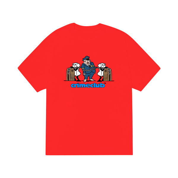 TRAP A PIG RED TEE - crimeclubmfg