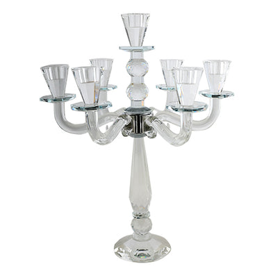 Crystal 7 Branch Candlesticks 45 cm