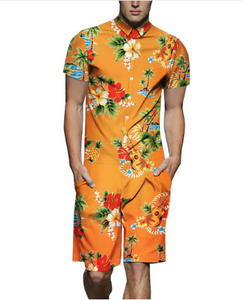 Coloured shark man suit Yamaxun Oumeifeng print shirt partner-Seo optimizer Test